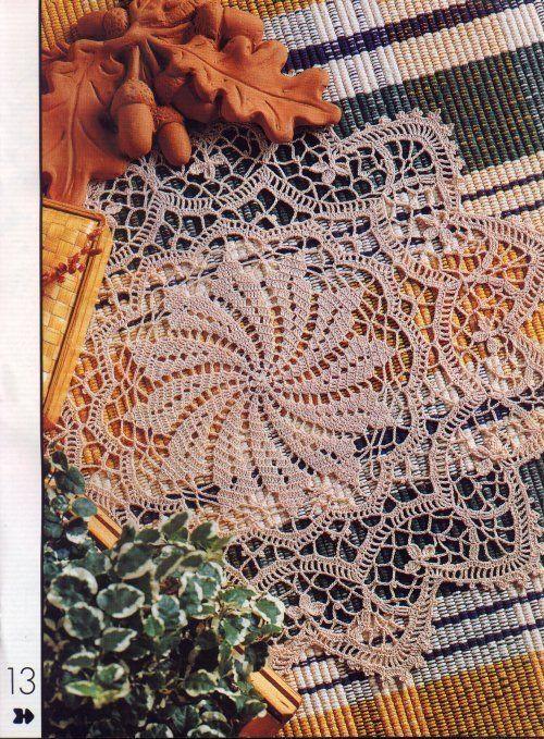 Crochet doilies from web - Barbara H. - Picasa Web Albümleri