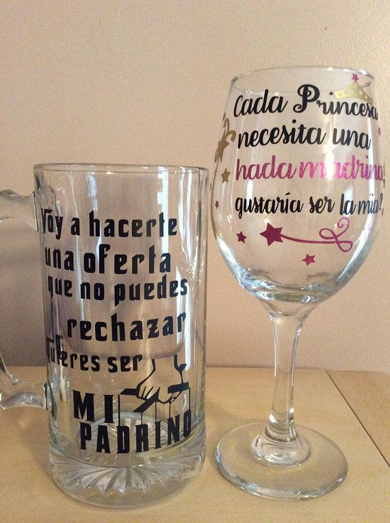 865ceac727dc Spanish godparent request Asking Godparents, Godparent Gifts, Spanish  Wedding, Baptism Party, Baby