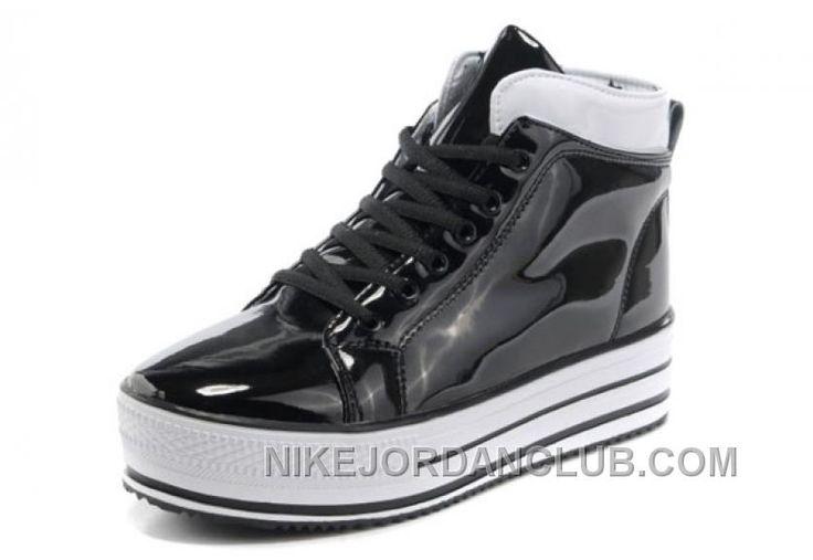 http://www.nikejordanclub.com/all-star-platform-converse-shiny-black-leather-shoes-new-style-k4h8a.html ALL STAR PLATFORM CONVERSE SHINY BLACK LEATHER SHOES NEW STYLE K4H8A Only $65.40 , Free Shipping!