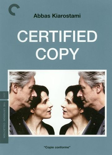 Certified Copy [Criterion Collection] [2 Discs] [DVD] [2010]