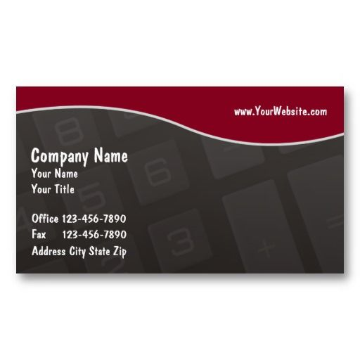 15 best accounting business cards templates images on pinterest accounting business cards cheaphphosting Images
