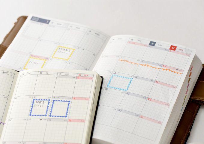 OSANPO ほぼ日手帳オリジナルスタンプ - 文房具と雑貨ラインナップ - ほぼ日手帳 2015