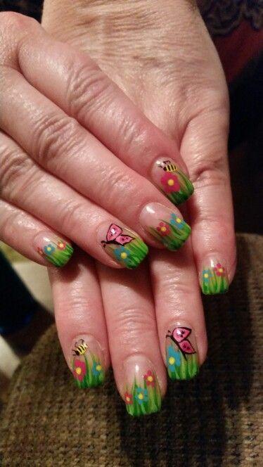 Spring Nail Design  April 2016