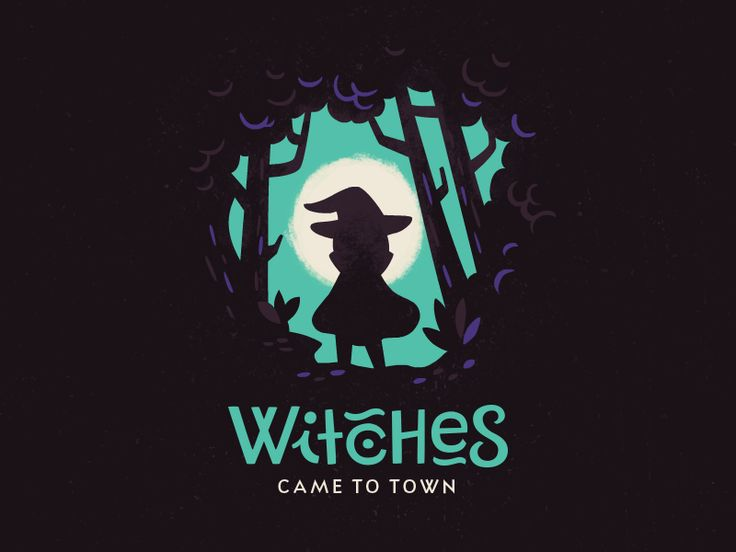Witches Came to Town by Alexa Erkaeva - Dribbble