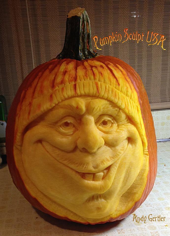 Face Pumpkin Carving