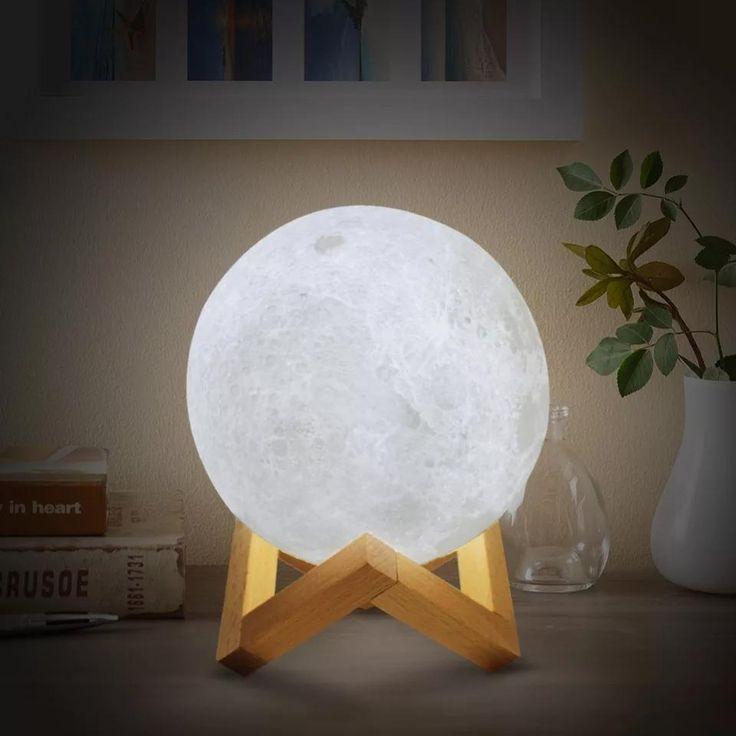 Moon Lamp 20 Cm Fast Ship 3 7 Days Night Light Lamp Led Night Lamp Decor