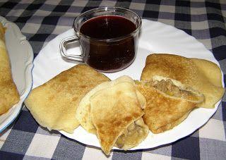 W Mojej Kuchni Lubię.. : naleśniki grahamkowo-pszenne z kapustą kiszoną i p...