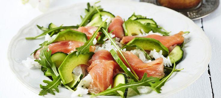 Sushisalaatti | Pääruoat | Reseptit – K-Ruoka