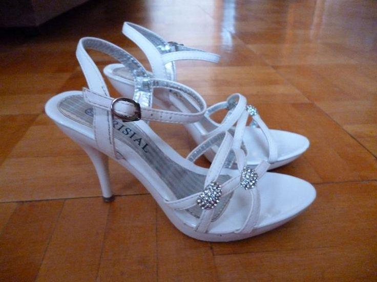 Белые туфли на шпильке продам 41 размер