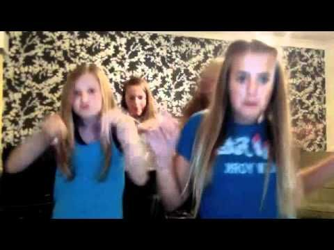 Lottie and Felicite Tomlinson and friends dancing to super bass. Lottie's laugh at 1:35 sounds just like Lou's!