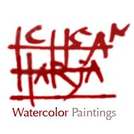 Bandung in Watercolor | Ichsan Harja Watercolor Painting