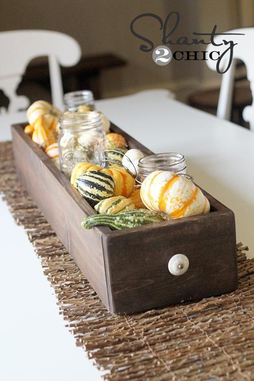 DIY Table Centerpiece for Fall DIY Fall Decor DIY Home Decor