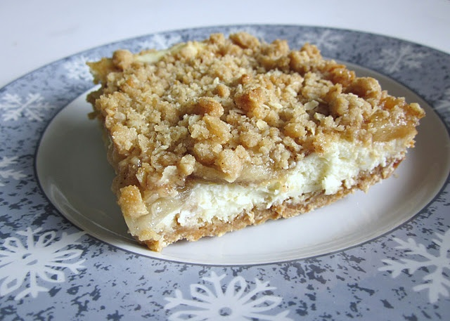 Apple Streusel Cheesecake Bars | Recipes - Fantasy Food | Pinterest