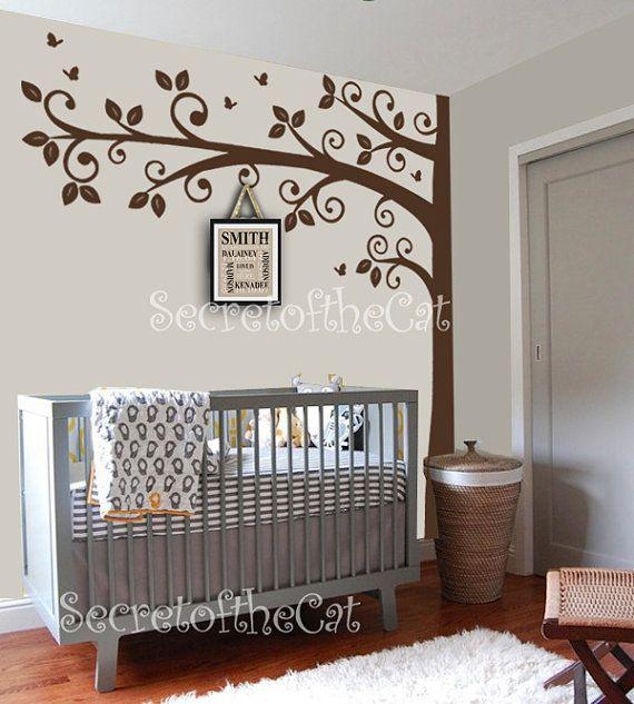 Wall decals Nursery Nursery Wall Decal Corner por secretofthecat