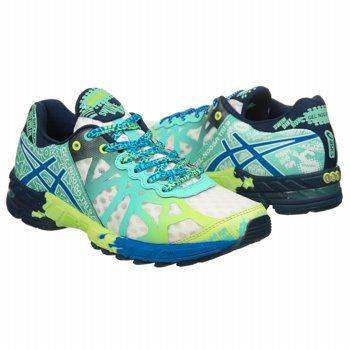 Athletics Asics Women's GEL-Noosa Tri 9 White/Electric Blue/ FamousFootwear.com