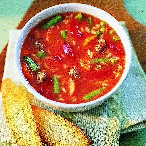 Italian Sausage and Tomato Soup - will make own tomato base and use ...