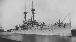 HMS Vanguard - sank on Scapa Flow after an internal explosion in 1917. On board was my granddad's uncle. He never knew him, but was named after him.
