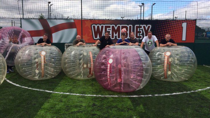 Bubble Football, also known as Zorb Football, has put a totally different spin on a game of football whilst on a stag do