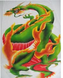 Airbrush Works by Calvin Chee Designed for a tattoo