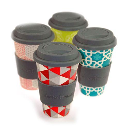 Coffee mug - to go #Bambusbecher # superpraktisch