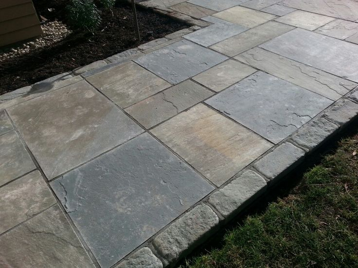 Find This Pin And More On Bluestone Patio Ideas By Tracysorrell.