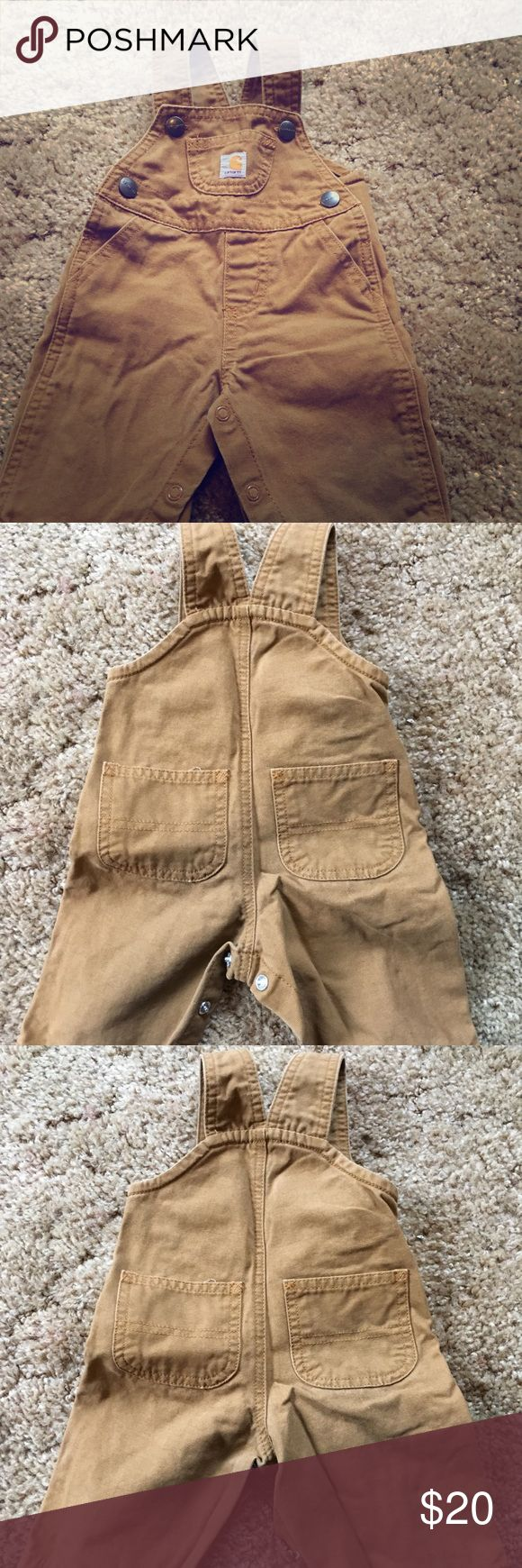 Carhartt overalls Completely adorable Only worn once for fall pictures No stains rips or tears Clean smoke free home Carhartt Other