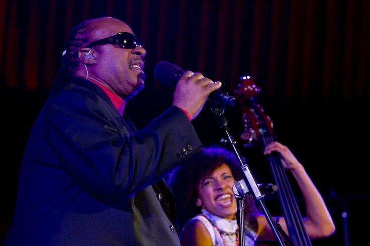 Стиви Уандер и Эсперанса Сполдинг. Stevie Wonder and Esperanza Spalding