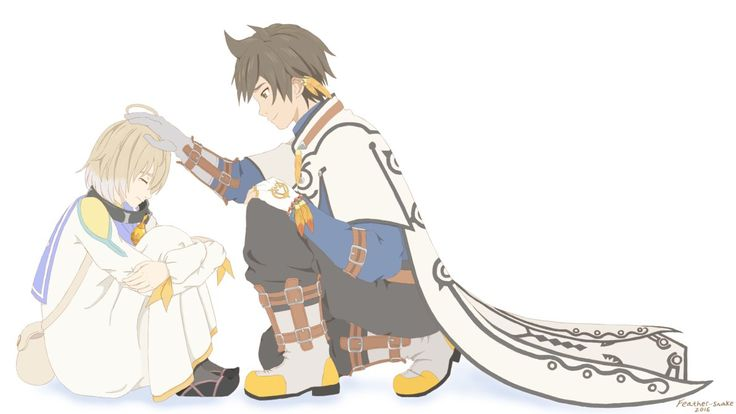 Sorey and Laphicet by Feather-Snake.deviantart.com on @DeviantArt