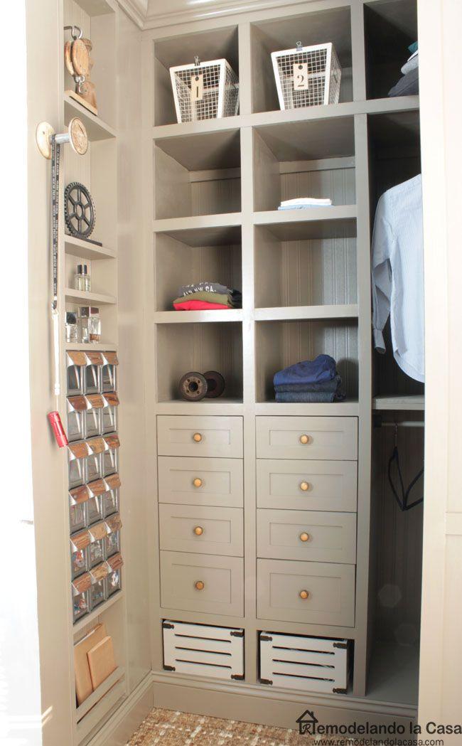 DIY   Small Closet Makeover   The Reveal