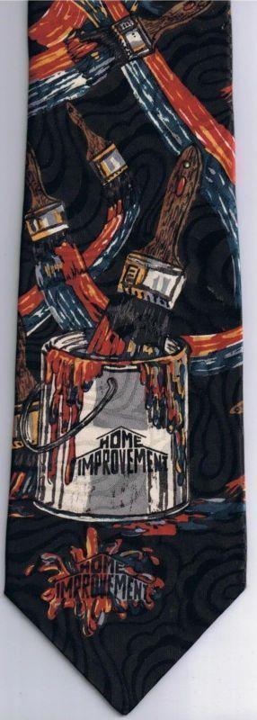 Home Improvement TV Show Necktie Brushstroke Touchstone Pictures #homeimprovementtvshow,