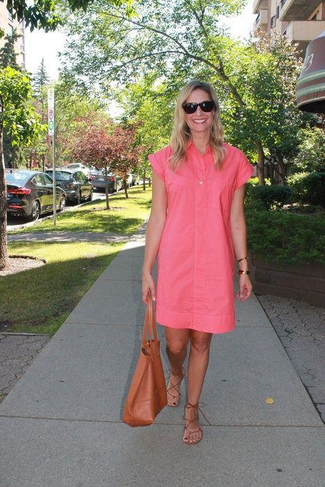 Perfect summer dress #jcrew #Madwell #summerdress #fashionover40