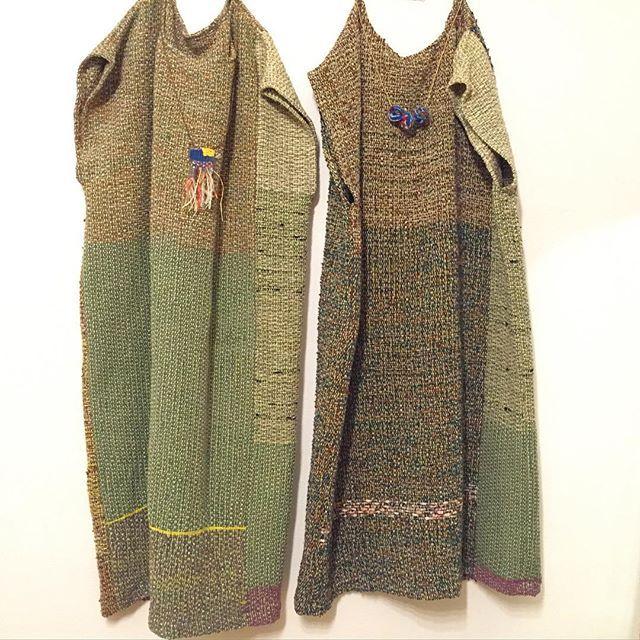#SAORI #Weaving #fashion #saoriweaving #handwoven #woven #dress