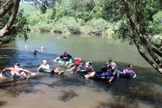 Knorrit Flat Riverside Retreat — A getaway haven for campers