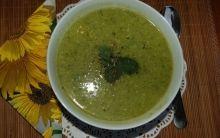 Edamame, Pea & Mint Soup