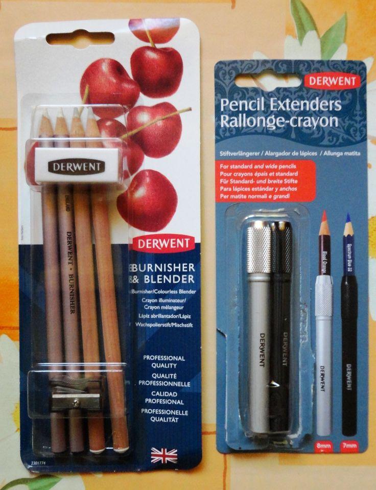Derwent Burnisher & Blender set Derwent Pencil Extender set