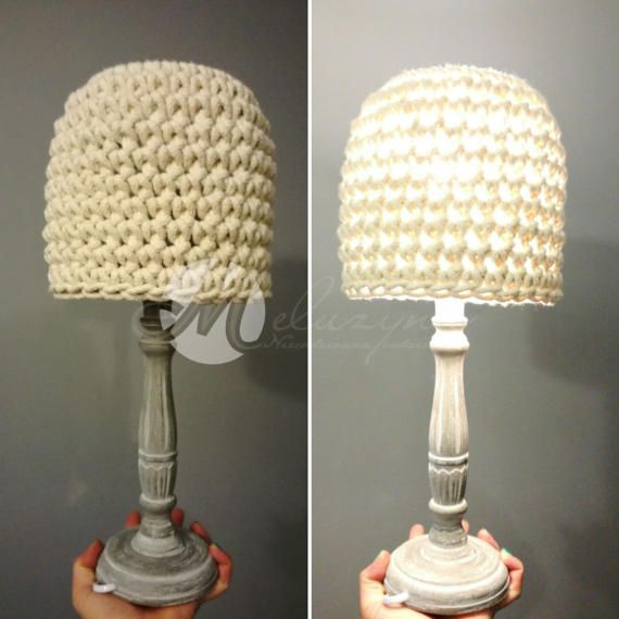 Crochet lamp table lamp crochet table lamp home design by Meluzyna