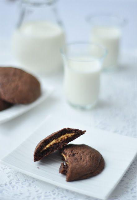 Kakaós-mogyoróvajas keksz