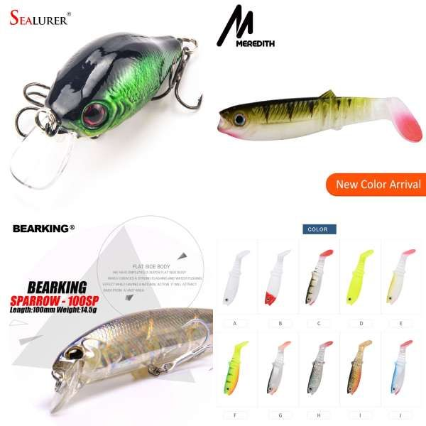 Fishing Lure Sea Fishing Bait 125mm 15g Floating And Slow Sinking