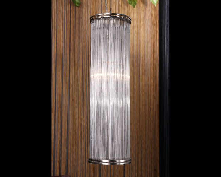 Glass Reed Pendant Light Large 1