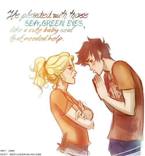 Piper wondered how Annabeth ever won an argument with this guy. art