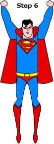 Vliegende superman knutselen met wc rol