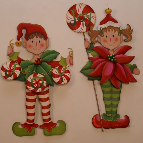 The Round Top Collection Christmas Elves Holiday Decorations | C7010 | Destination Lighting