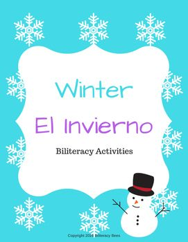 Unscramble the Snowman activity and Count the Syllable Snowflakes activity