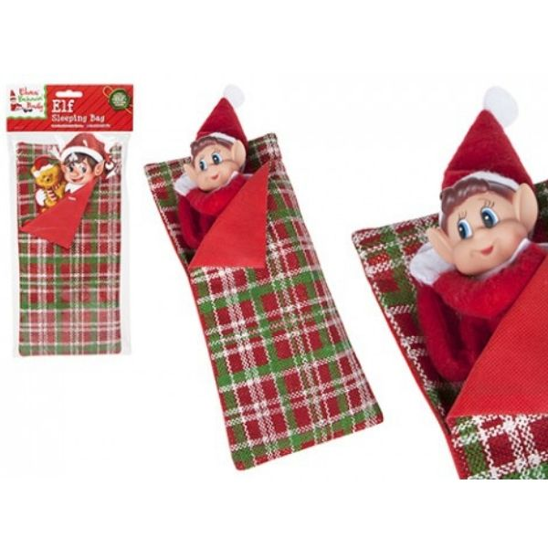 VIP Elf Sleeping Bag with Pillow VIP Elf For Christmas Accessory
