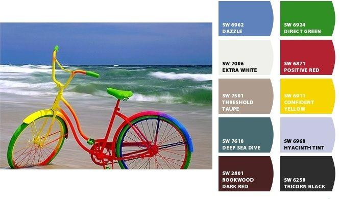 La bicicleta de colores