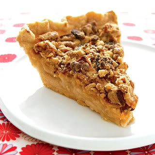 Bacon apple pie. Actually more American than regular apple pie.