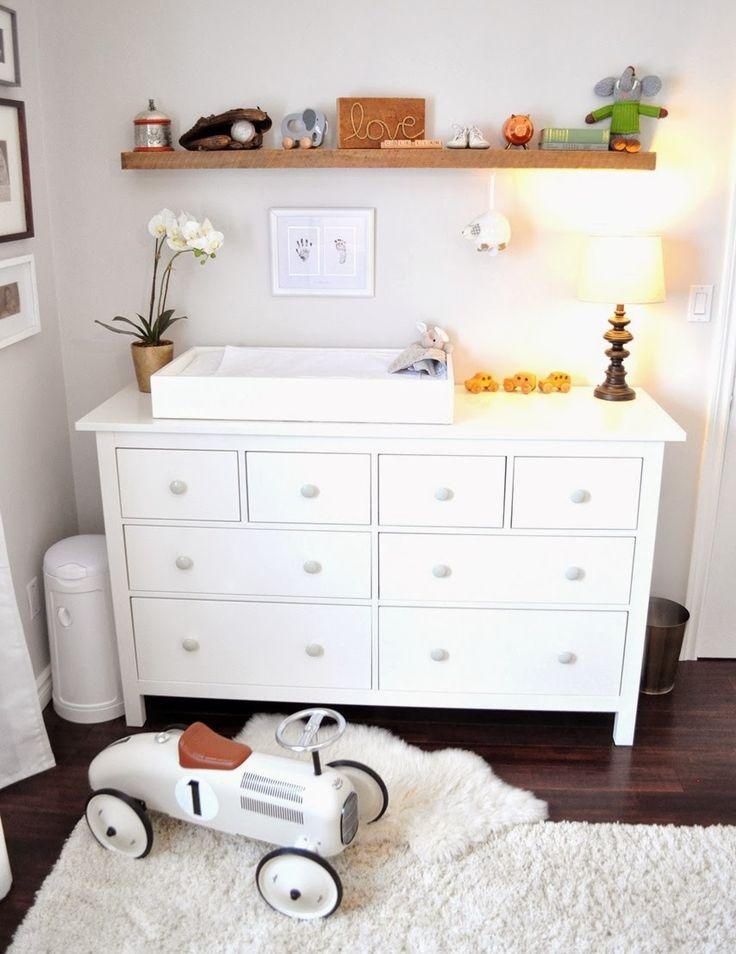 17 best ideas about nursery changing tables on pinterest ikea hack nursery nursery storage. Black Bedroom Furniture Sets. Home Design Ideas