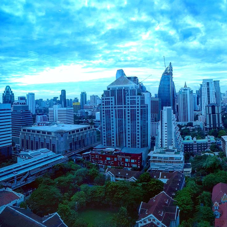 """Good morning Bangkok!  As Murray Head sang .... """"One night in Bangkok makes a hard man humble Not much between despair and ecstasy One night in Bangkok and the tough guys tumble Can't be too careful with your company I can feel the devil walking next to me"""""""
