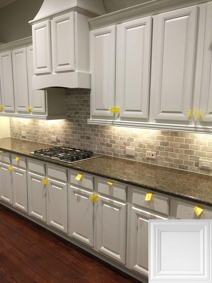 Best Rta Kitchen Cabinets 2021 Backsplash For White Cabinets Kitchen Design Brick Kitchen