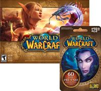 Best Buy World of Warcraft Game and 60-day Subscription Card Package Our Price: $34.98 Reg. Price: $49.98